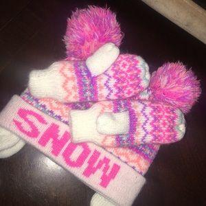 Winter Hat & Mittens Set